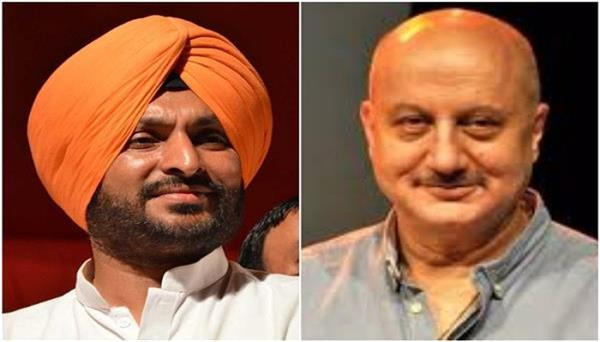 anupam kher should be kicked out of bjp for using guru gobind singh