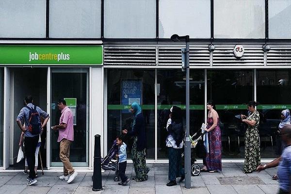 uk  unemployment  applications