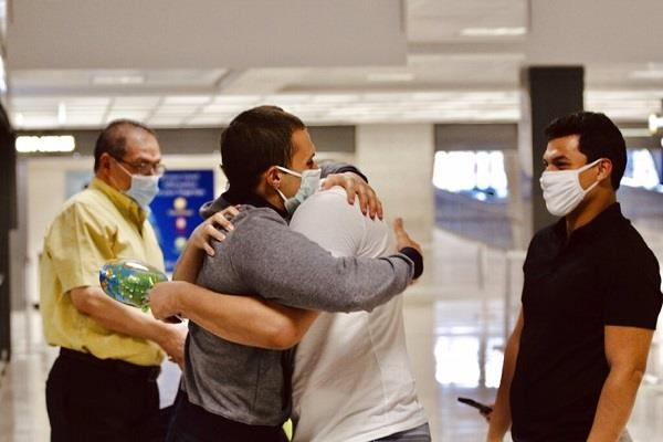 us student released  486 days egypt