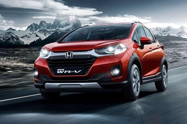 honda wr v facelift launched