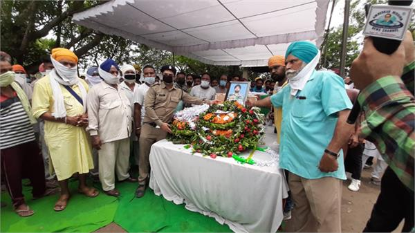 grandmother also died after the cremation of shaheed palwinder singh