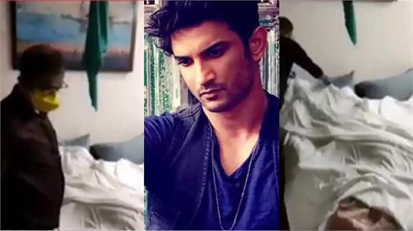 sushant singh rajput s forensic test video gets leaked online
