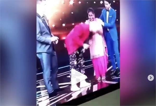 afsana khan shared her reality show video with diljit dosanjh