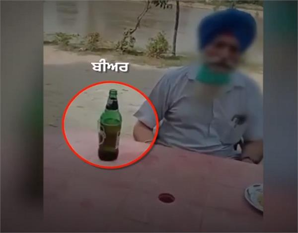 amritdhari sikh beer viral video sikh sangat amritdhari sikh drinking beer