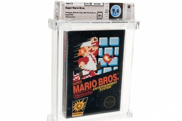 super mario bros breaks new sale record
