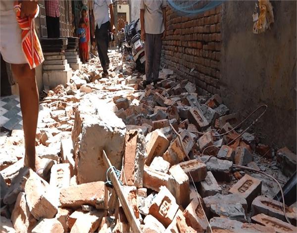 amritsar  two killed in natural calamity