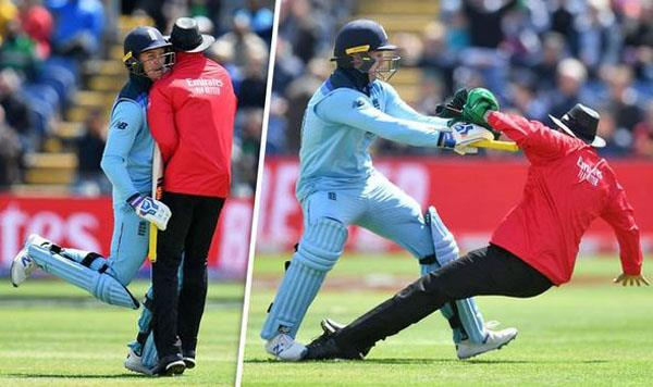 birthday special jason roy when umpire was hit in the middle of a century