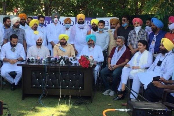 punjabi singer anmol gagan joins aap