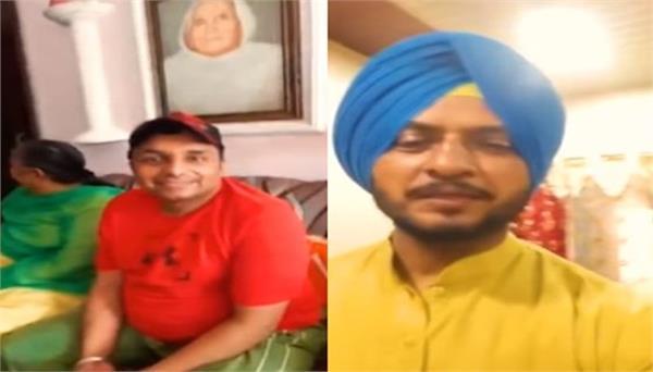 sukhwinder sukhi shared video from kuldeep manak house