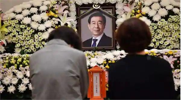 the funeral of the mayor of seoul will be on monday
