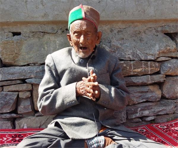 103 years shyam saran negi first vote in india