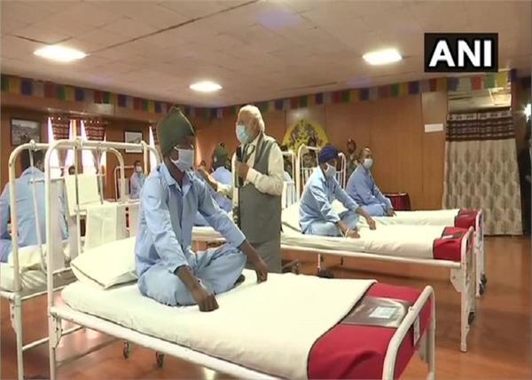 ladakh injured jawan prime minister narendra modi meeting