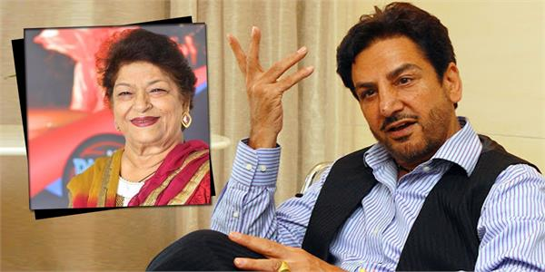 gurdas maan share emotional post for saroj khan