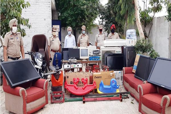 government school burglary gang busted  2 arrested  18 charged