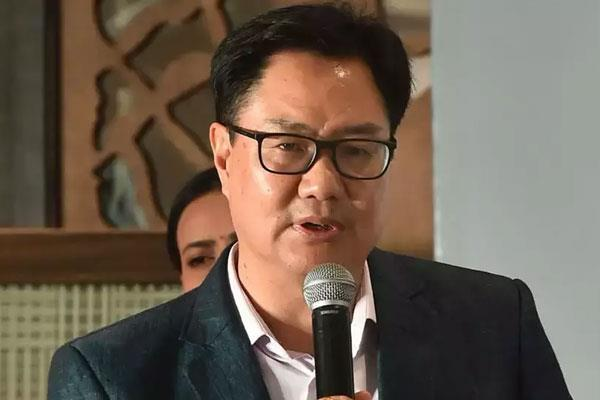rijiju left the decision to start sports activities to the states