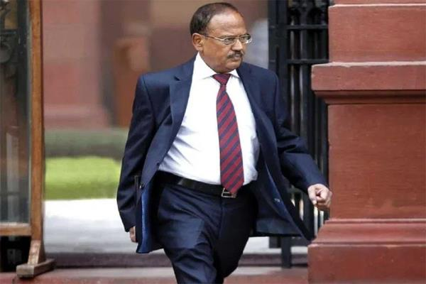 nsa ajit doval connection behind china s bowing in ladakh
