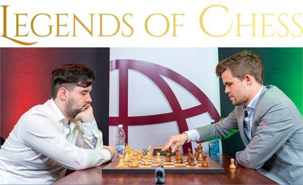 legends of chess  lead by magnus carlsen
