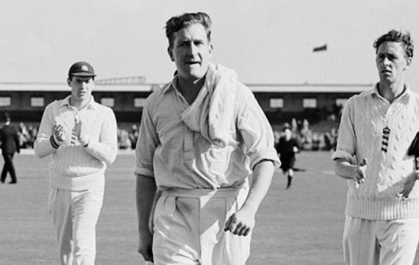 jim laker took 8 wickets in the same test