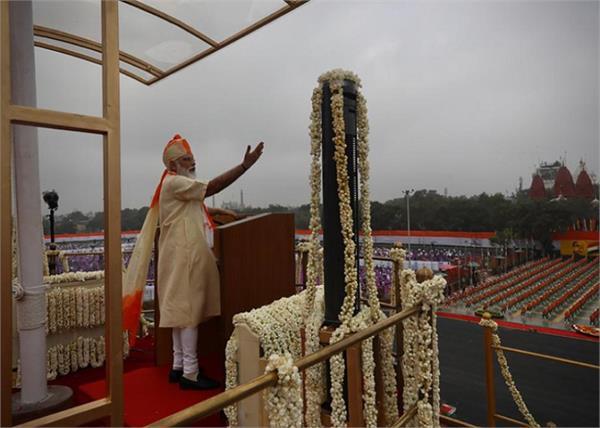 narendra modi army corona warriors tribute independence day