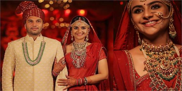 diya aur baati hum actress prachi tehlan shares her wedding pics