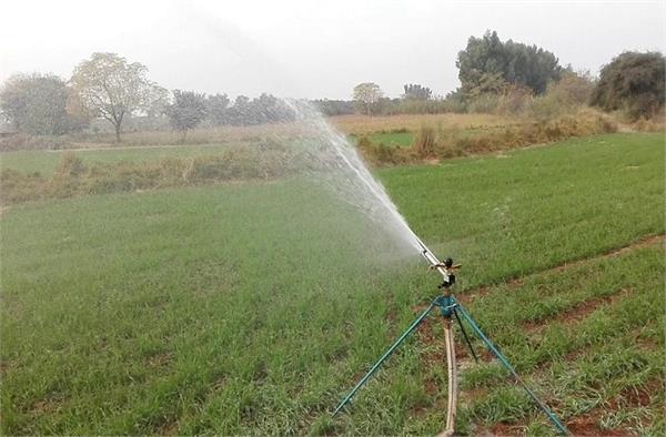 water savings problems rain gun irrigation s
