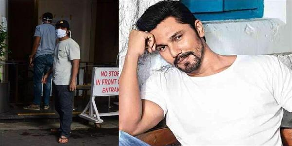 randeep hooda admit breach candy hospital in mumbai