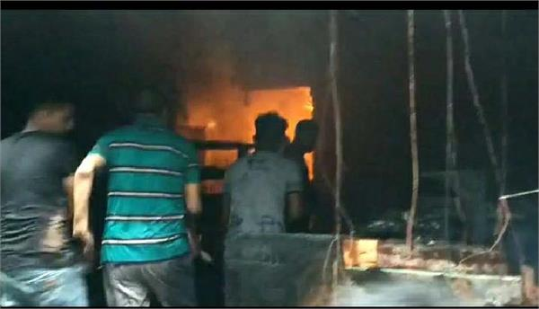 dilbagh sweets fire