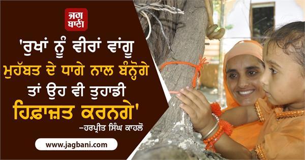 sultanpur lodhi rakhri trees love