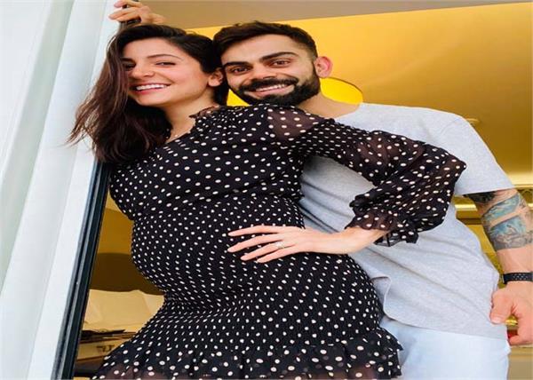 virat kohli anushka sharma become parents january