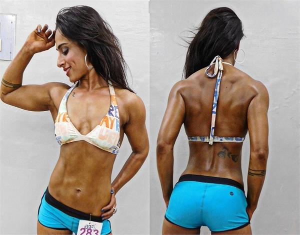 women bodybuilder harbhajan singh bikini pictures