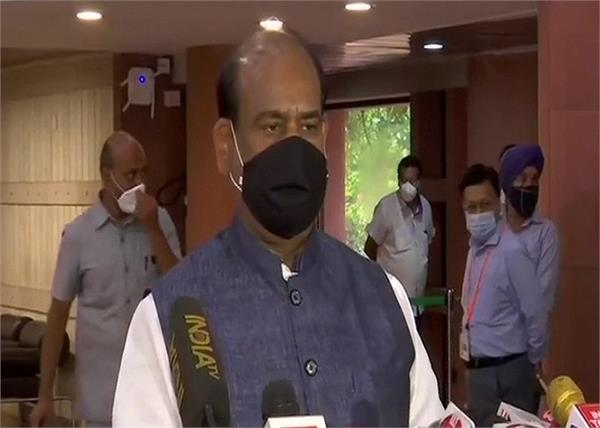 monsoon session om birla requests mps covid19 tested