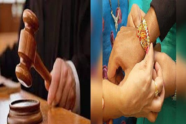 indore high court granted bail to accused tied rakhi