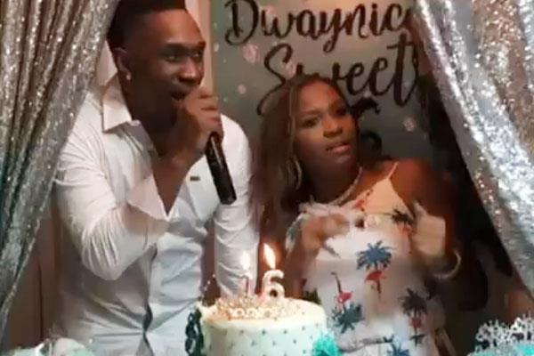 dwayne bravo sings a song on his daughter s birthday