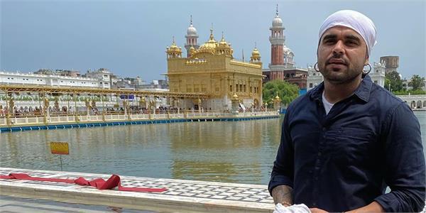 ninja visit golden temple amritsar