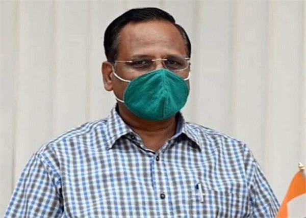delhi covid 19 coronavirus cases satyendar jain