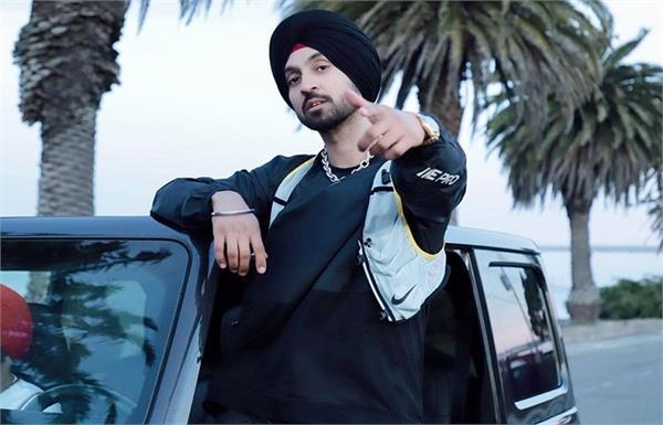 diljit dosanjh became number one digital star  new album goat trending