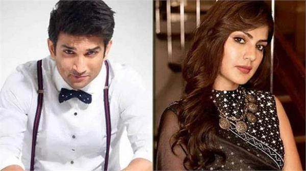 sushant singh rajput death case call data record of rhea chakraborty
