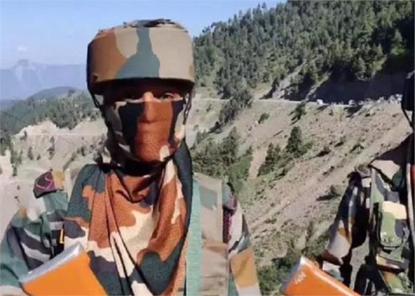 jammu and kashmir indian army loc women posted