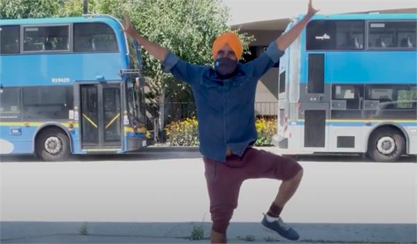 bhangra dancer teams up with translink