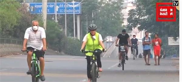jalandhar traffic police highway cycling