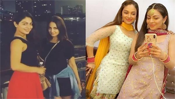 rubina bajwa wishes happy birthday to her elder sister neeru bajwa