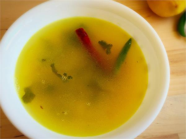 yellow moong dal water benefits