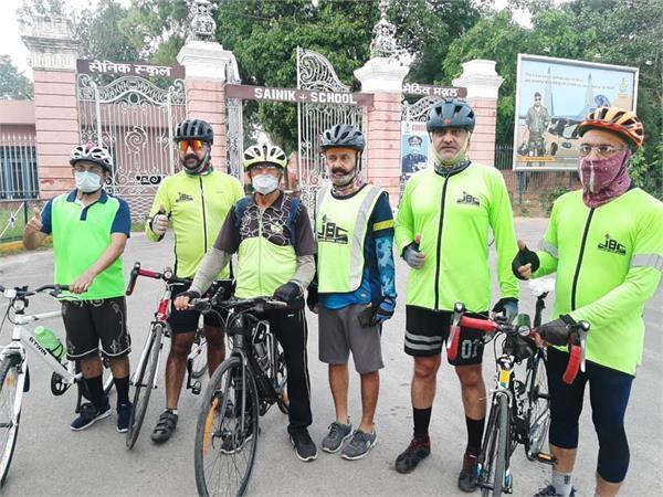 jalandhar biking club  healthy society  bicycle rally