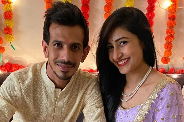 indian spinner chahal engaged to dhanashree verma