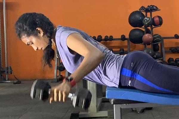 badminton player pv sindhu happy on re opening gyms share photo
