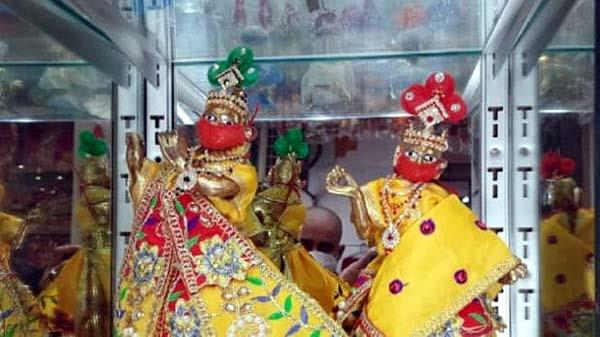 kanha wearing a mask and ppe kit came on the market