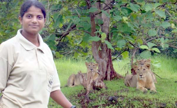 meet rasila vadher the lion queen of gir