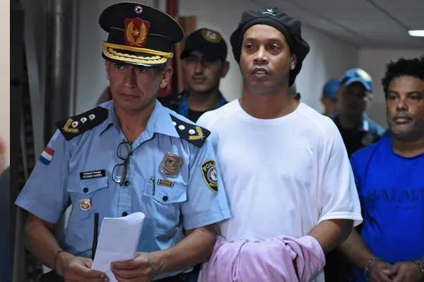 ronaldinho released after 6 months in detention