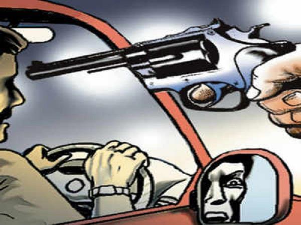 doraha gt road at gun point snatched a car