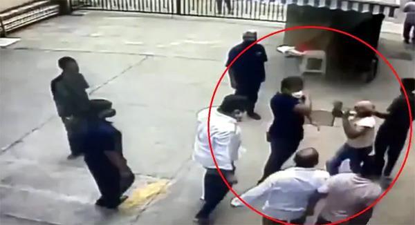shiv sena assaults former navy officer